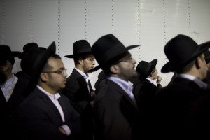 Ultra-Orthodox Israelis Rally In Protests Against Army Drafts